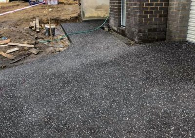 dandenong exposed aggregate concrete driveway services