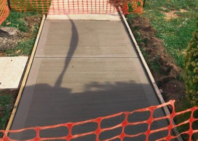 footpath-concreting